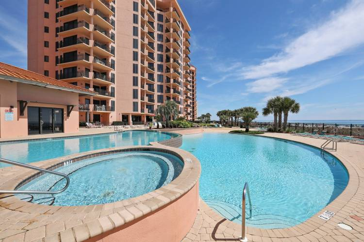 seachase resort pool and spa in orange beach alabama